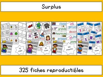 Surplus pour cahiers de 1re année
