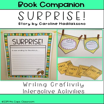Surprise! Book Companion 2nd & 3rd Grade