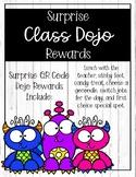 Surprise Class Dojo Rewards