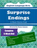 Surprise Endings Short Stories Unit
