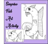 Surprise Fish Art Activity