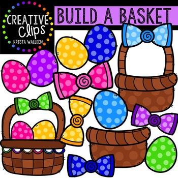 Build an Easter Basket: Easter Clipart {Creative Clips Digital Clipart}