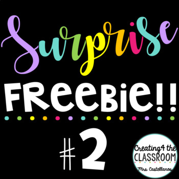 Surprise Freebie #2! {Creating4 the Classroom Clip art}