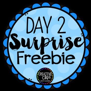 Surprise Freebie #2 {Creative Clips Digital Clipart}