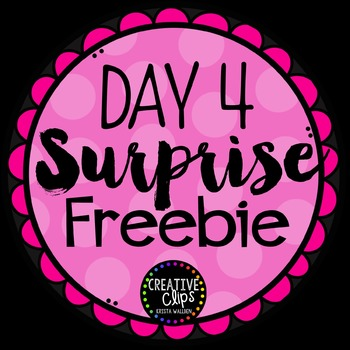 Surprise Freebie #4 {Creative Clips Digital Clipart}