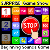 Surprise! Game Show - CVC Words Beginning Sounds Game for Any Device