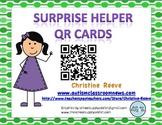 Surprise Helpers: QR Cards for Behavior Management