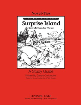 Surprise Island - Novel-Ties Study Guide