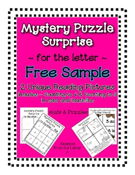 Surprise Mystery Puzzles - Entire Alphabet Collection - Te