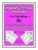 Surprise Mystery Puzzles for Teaching by the Letter B - Fluency work Included