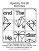 Surprise Mystery Puzzles for Teaching by the Letter D - Fluency work Included