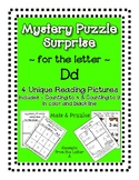 Surprise Mystery Puzzles for Teaching by the Letter D - Fl