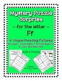 Surprise Mystery Puzzles for Teaching by the Letter F - Fl