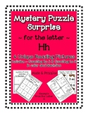 Surprise Mystery Puzzles for Teaching by the Letter H - Fl