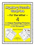 Surprise Mystery Puzzles for Teaching by the Letter J - Fl