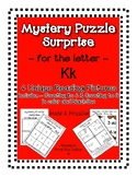 Surprise Mystery Puzzles for Teaching by the Letter K - Fl