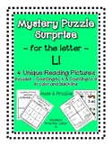 Surprise Mystery Puzzles for Teaching by the Letter L - Fl
