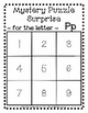 Surprise Mystery Puzzles for Teaching by the Letter P - Fl