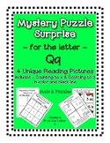 Surprise Mystery Puzzles for Teaching by the Letter Q - Fl