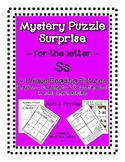 Surprise Mystery Puzzles for Teaching by the Letter S - Fl