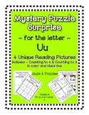 Surprise Mystery Puzzles for Teaching by the Letter U - Fl