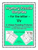 Surprise Mystery Puzzles for Teaching by the Letter V - Fl