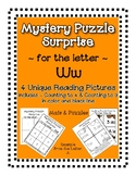 Surprise Mystery Puzzles for Teaching by the Letter W - Fl