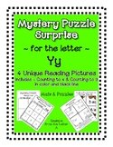 Surprise Mystery Puzzles for Teaching by the Letter Y - Fl