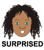 Surprise - 1 of 9 Faces of Emotions for Emotional Intellig