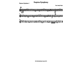Surprise Symphony Orffestration