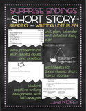 Surprise endings short story unit