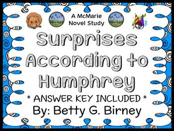 Surprises According to Humphrey (Betty G. Birney) Novel St