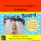 Surprises According to Humphrey Reading and Writing Response Choice Board