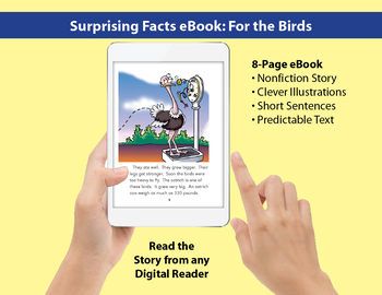 Surprising Facts eBook: Nonfiction Story About Birds