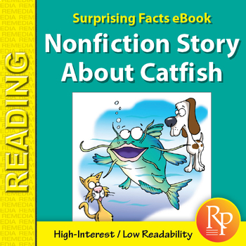 Surprising Facts eBook: Nonfiction Story About Catfish