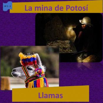 Ecology and work: Llamas / La Mina de Potosí; 2 thematic units  - SP Inter. 1