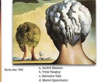 Surrealism ~ Art ~ Exam ~ Art History ~ 100 M/C Visual Qs ~ Surreal ~ Test
