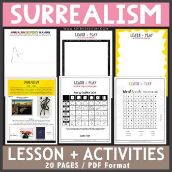 Surrealism Inspired Drawing Activities
