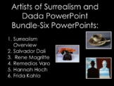 Surrealism PowerPoint Bundle: Six Great Surreal and Dada Artists