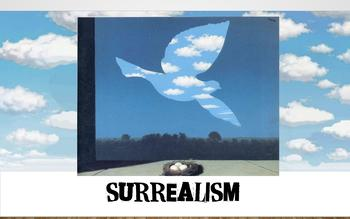 Surrealism Presentation and Art Project:  Surreal Landscape Collage