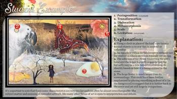 Surrealist Art Collage Project Lesson