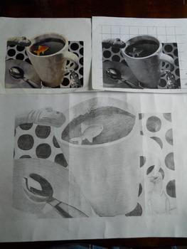 Surrealist Grid-Drawings