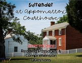 Surrender at Appomattox Courthouse Reading Passages for SS