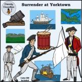 Surrender at Yorktown Clip Art by Dandy Doodles