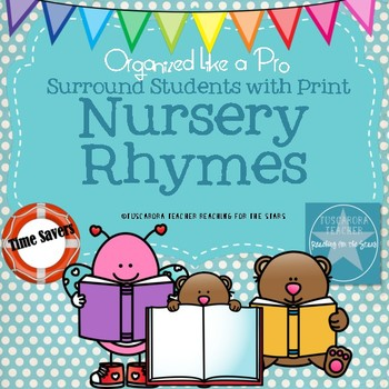 Surround Students with Print Poetry Party Nursery Rhymes