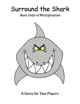 Surround the Shark - Basic Facts of Multiplication Game