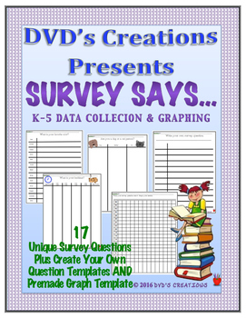 Graphing, Data Collection, Survey Classmates this September!
