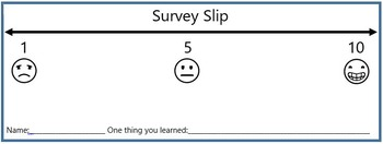Survey Slips