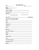 Survey Time Capsule 9th grade Letter to Senior Self Graduation
