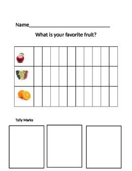 Survey and Graph Favorite Fruit